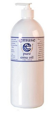 Pure Emu Oil 1 Litre Bottle